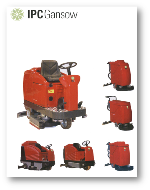 IPC Heavy Duty Red Scrubbers